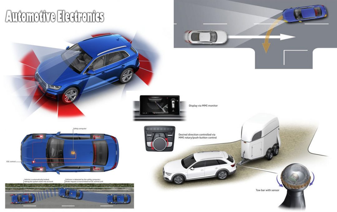 Driving Conveniently Using the Assist of Sensible Automotive Electronics