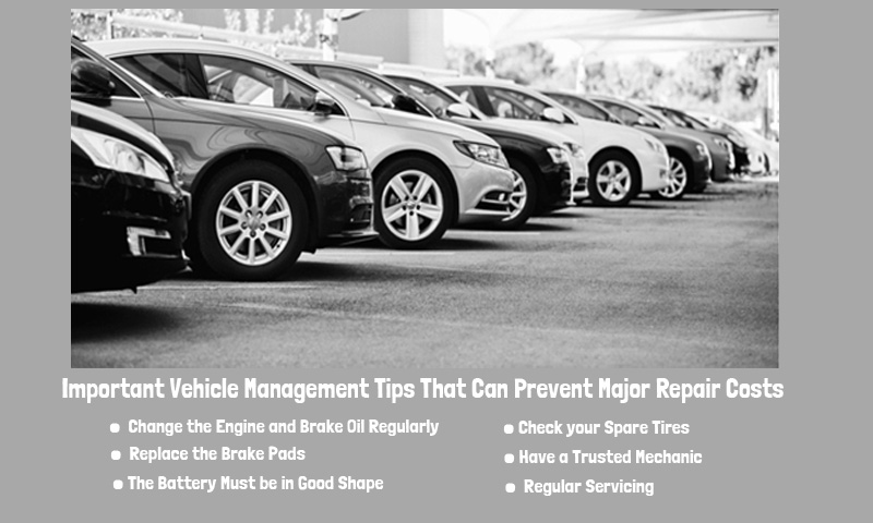 Important Vehicle Management Tips That Can Prevent Major Repair Costs